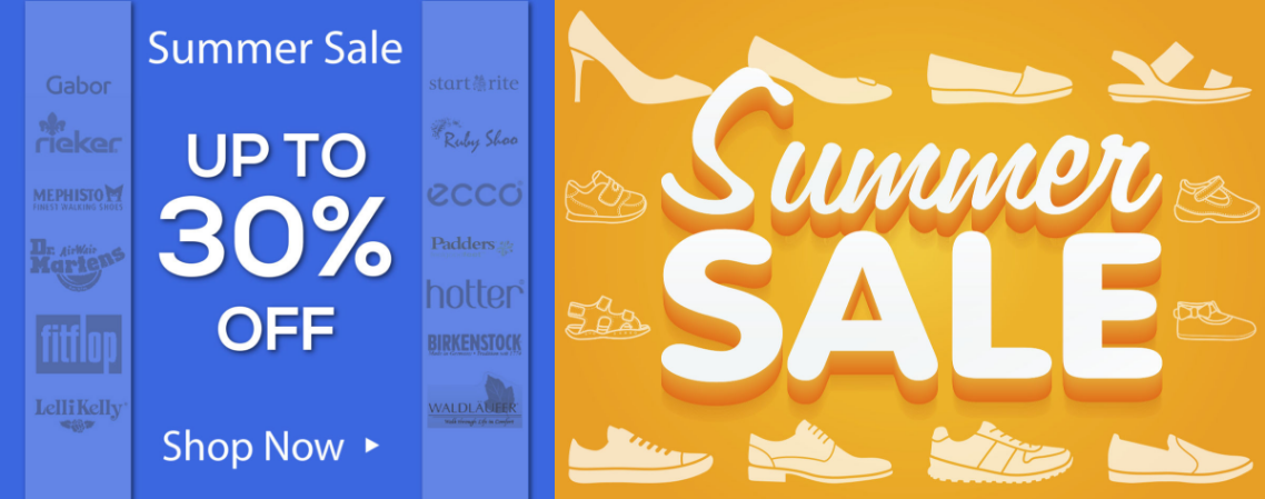 Shoes International: Summer Sale up to 30% off Womens, Mens, Girls and Boys Shoes