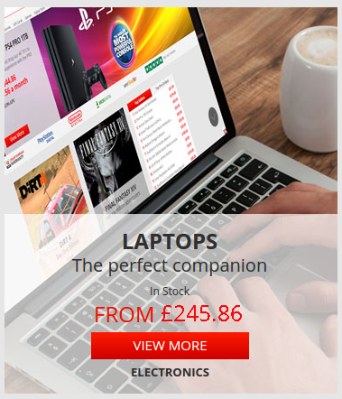 ShopTo: laptops from £245,86