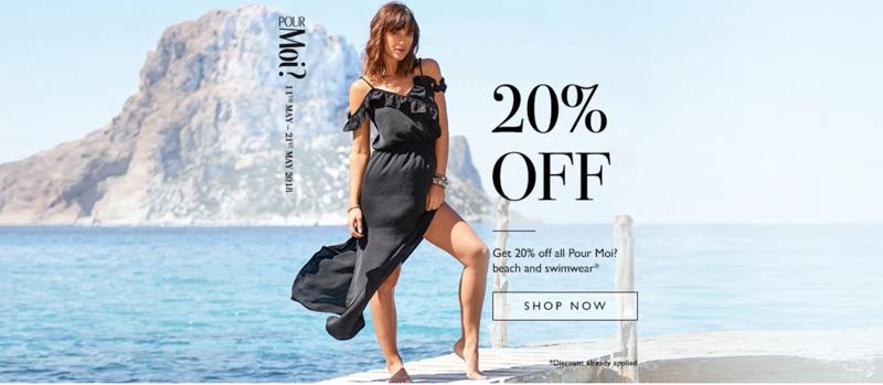 Simply Beach: 20% off beachwear and swimwear