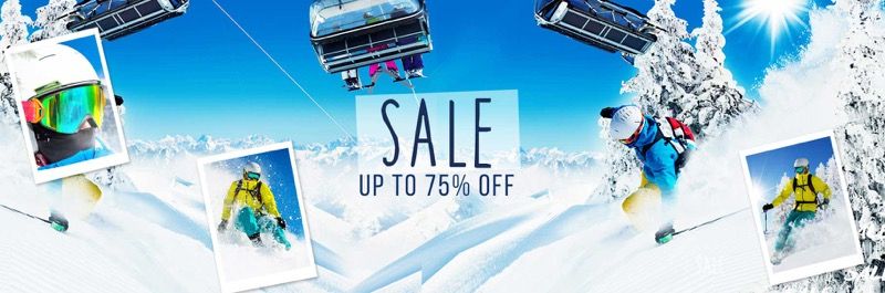 Simply Piste: Sale up to 75% off ski wear and accessories