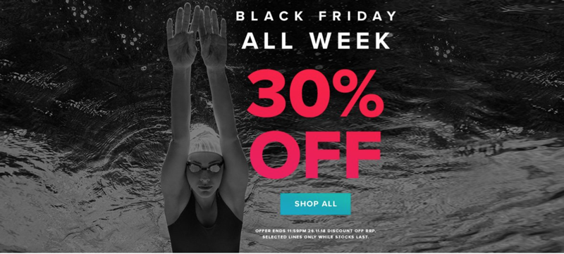 Black Friday Simply Swim: 30% off swimwear and swimming accessories