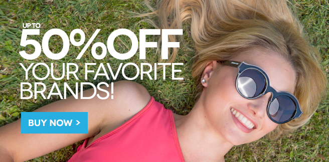 SmartBuyGlasses: Sale up to 50% off your favourite sunglasses brands