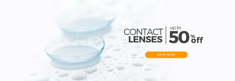 SmartBuyGlasses: up to 50% off contact lenses