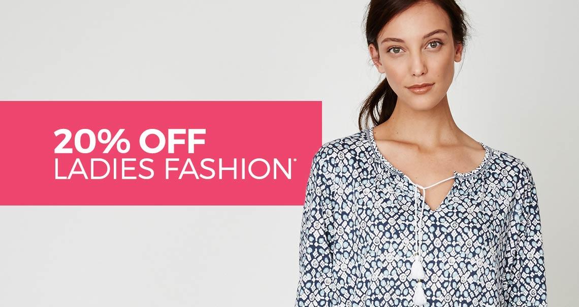 Spirit of Nature: 20% off ladies fashion