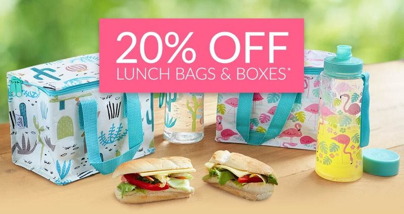Spirit of Nature: 20% off lunch bags & boxes