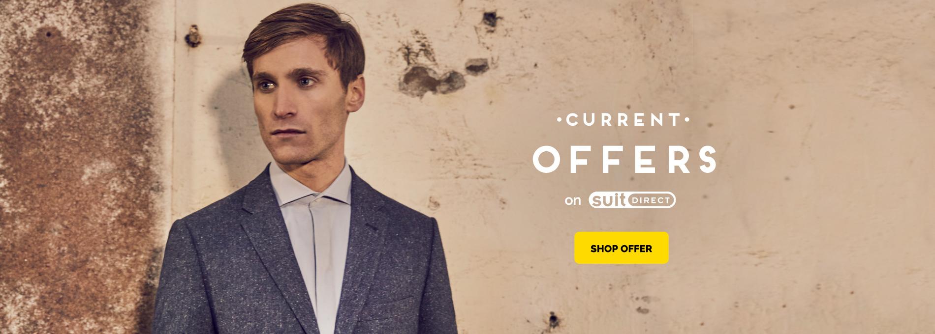 Suit Direct Suit Direct: Sale up to 70% off mens suits