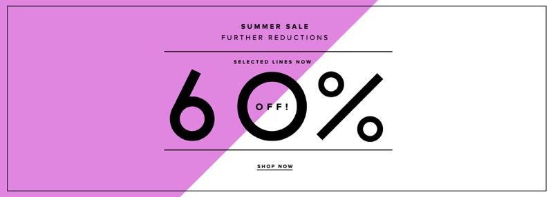 Suit Direct: Summer Sale 60% off menswear