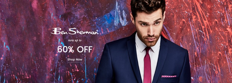 Suit Direct: up to 60% off Ben Sherman suits and shirts