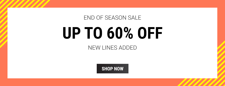 Sunglasses Shop: End of Season Sale up to 60% off sunglasses