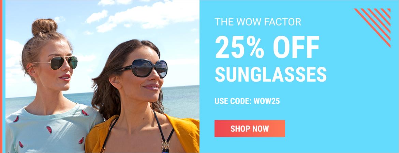 Sunglasses Shop Sunglasses Shop: 25% off sunglasses