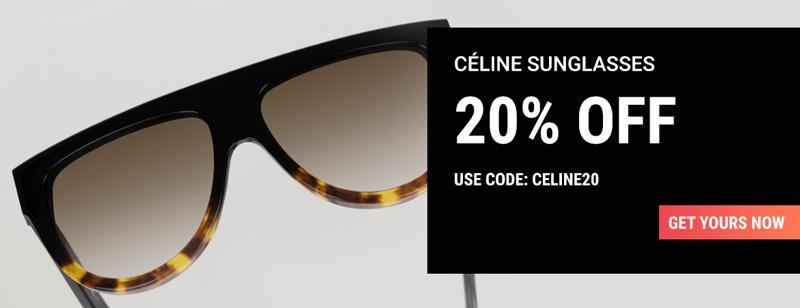 Sunglasses Shop Sunglasses Shop: 20% off Celine sunglasses