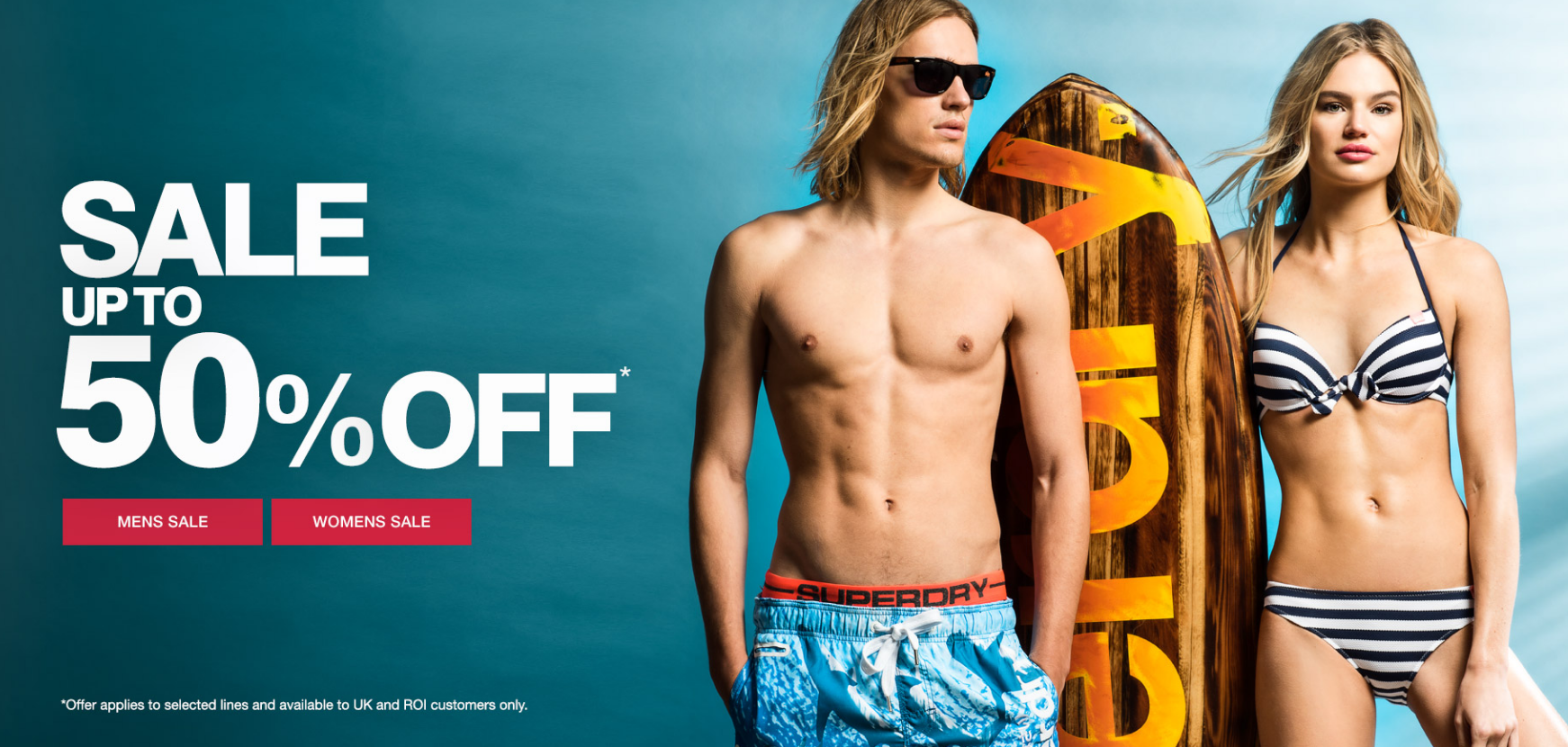 Superdry: sale up to 50% off
