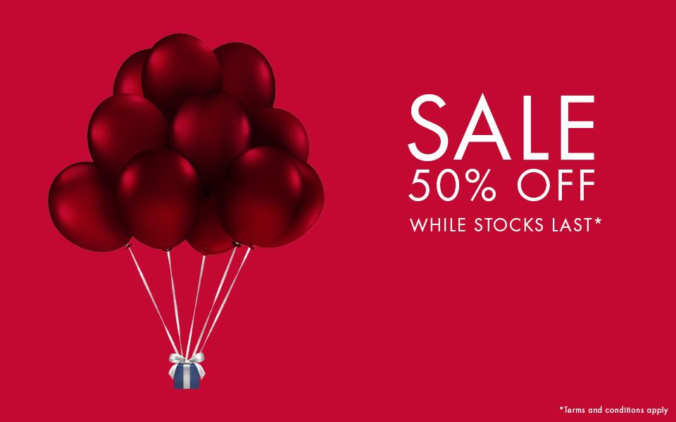 Swarovski: sale up to 50% off
