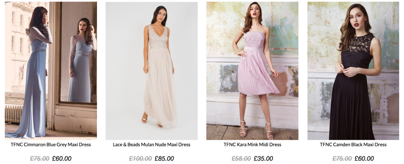 TFNC London TFNC London: Sale up to 60% off women's fashion