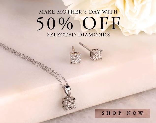 T. H. Baker T. H. Baker: 50% off diamonds