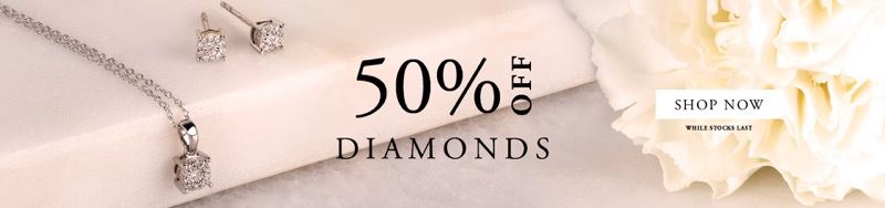 T. H. Baker T. H. Baker: 50% off diamonds