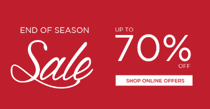 T. H. Baker: End of Season Sale up to 70% off jewellers