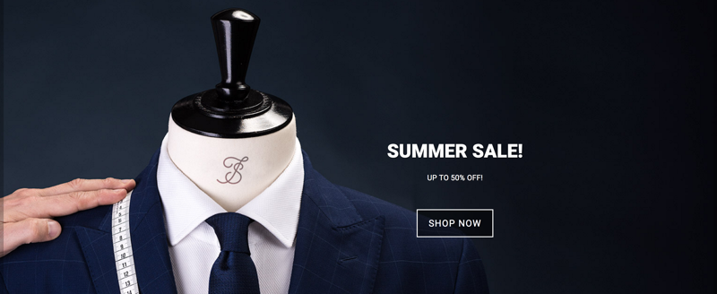 Tailorstore: Sale up to 50% off men's clothing and accessories