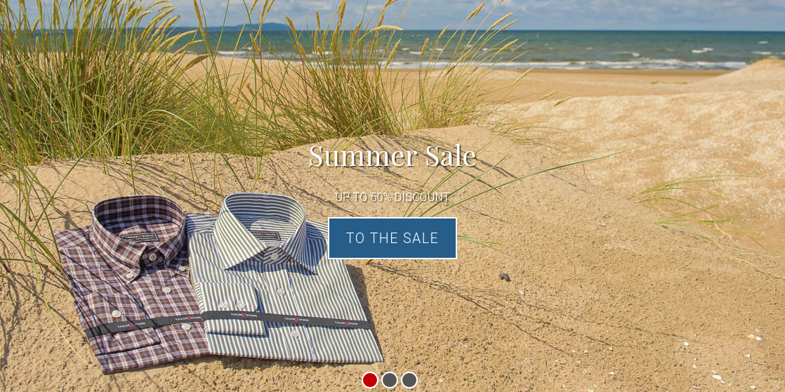 Tailor Store: sale up to 50% off