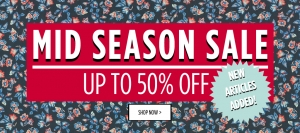 Tally Weijl: Mid Season Sale up to 50% off