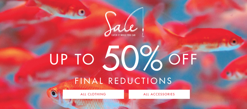 Ted Baker: sale up to 50% off