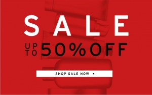The Body Shop: sale up to 50% off and 40% off most items online