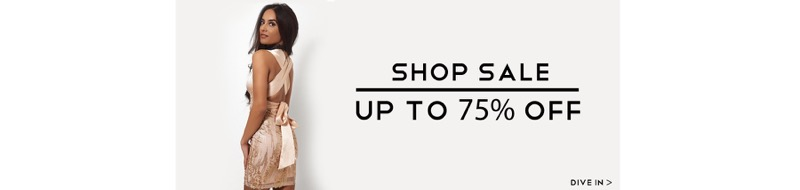 The Fashion Bible: Sale up to 75% off ladies clothes, shoes and accessories