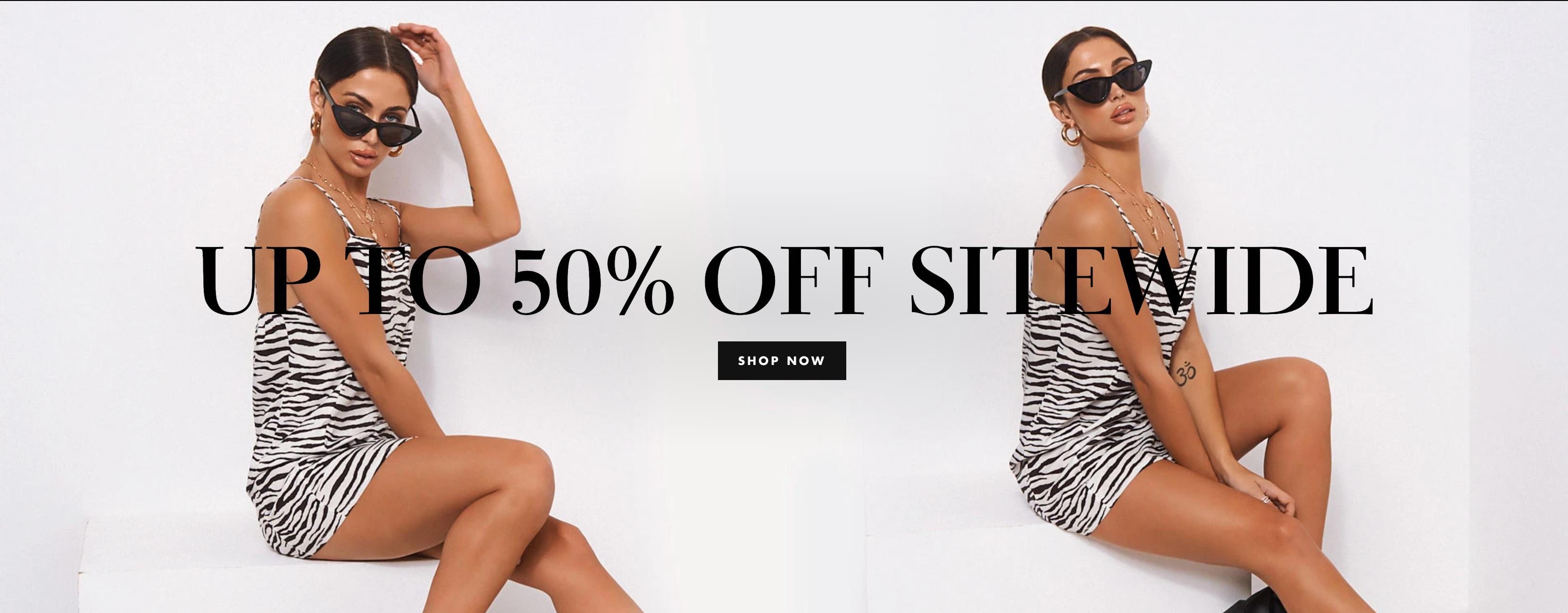 The Fashion Bible: Sale up to 50% off women's fashion dresses & clothing