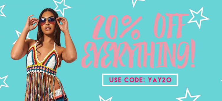 The Fashion Bible: 20% off clothing, shoes and accessories