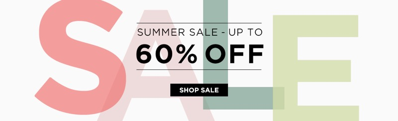 The Hut The Hut: Summer Sale up to 60% off fashion, homeware and sports accessories
