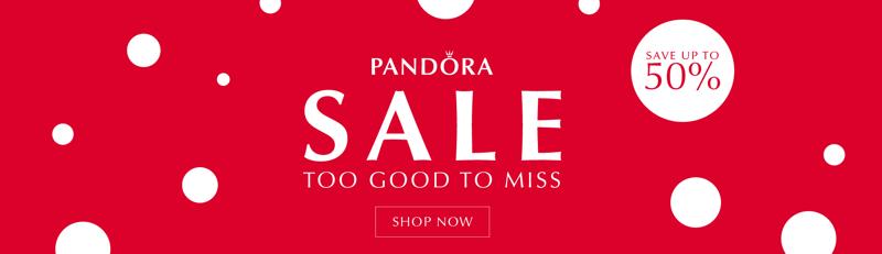The Jewel Hut: Sale up to 50% off Pandora jewellery