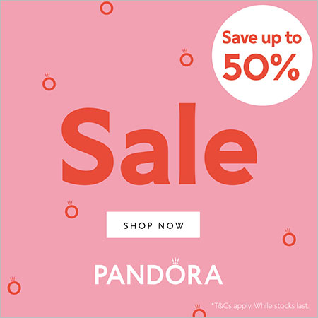 The Jewel Hut: Sale up to 50% off Pandora jewellery