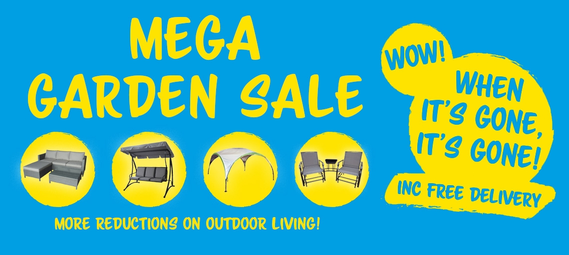 The Original Factory Shop: Mega Garden Sale up to 50% off outdoor living