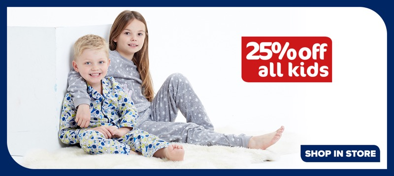 The Original Factory Shop: 25% off all kids fashion