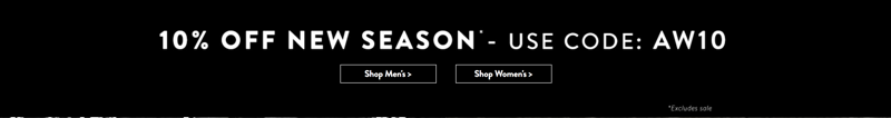 Tokyo Laundry: 10% off women's and men's fashion clothing