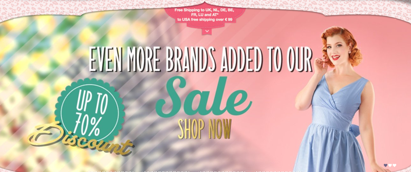 Top Vintage: Sale up to 70% off vintage clothing and accessories