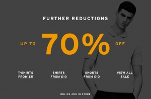 Topman: further reductions up to 70% off