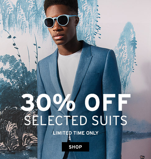 Topman: 30% off selected suits