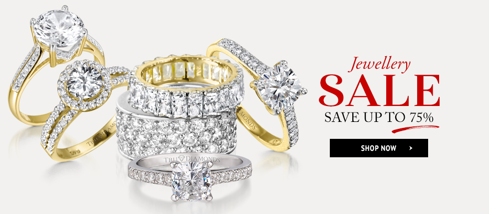 Tru Diamonds: Sale up to 70% off jewellery like rings, earrings, necklaces, bracelets and more