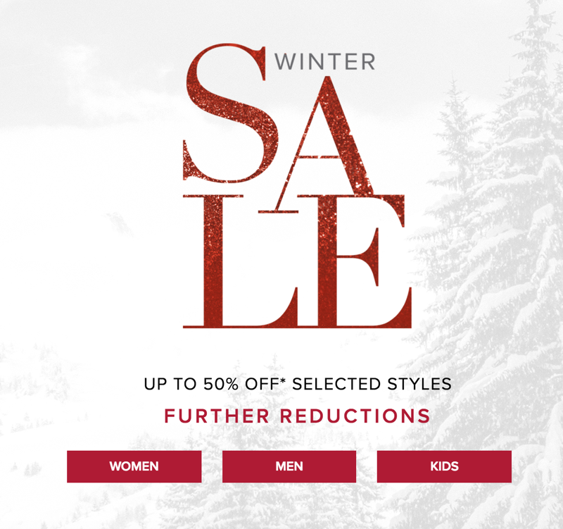 UGG: Winter Sale up to 50% off boots and clothing