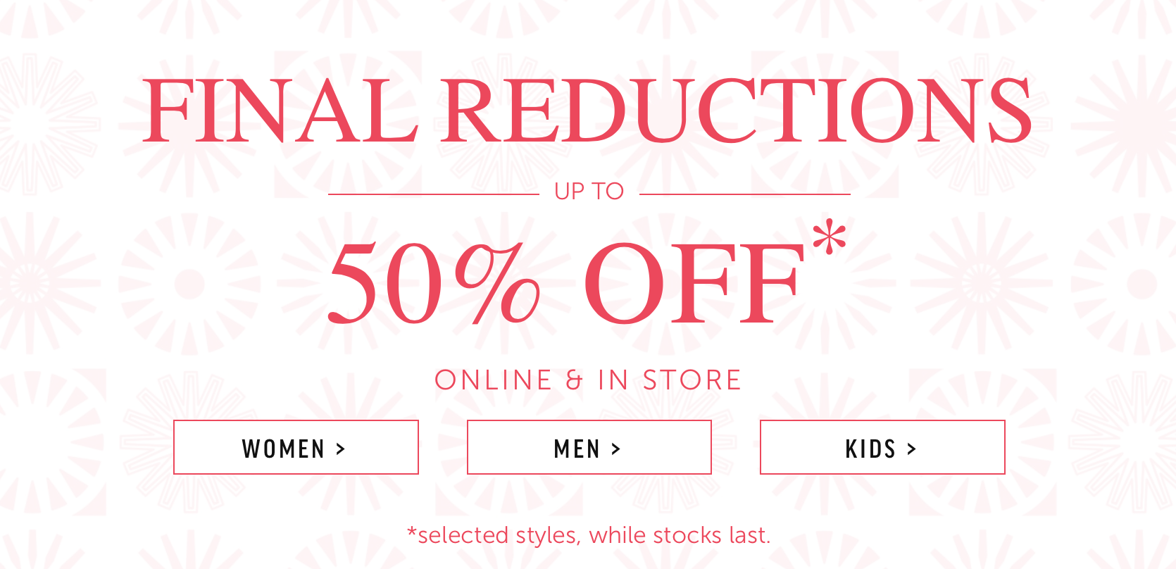 UGG: sale up to 50% off