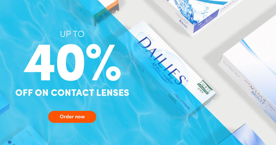 LensOn: up to 40% off on contact lenses