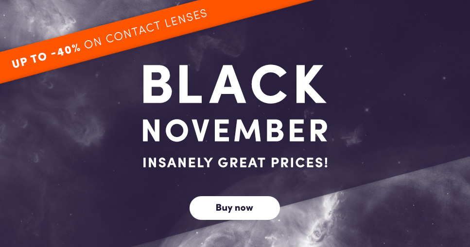 Lenson: up to 40% off contact lenses