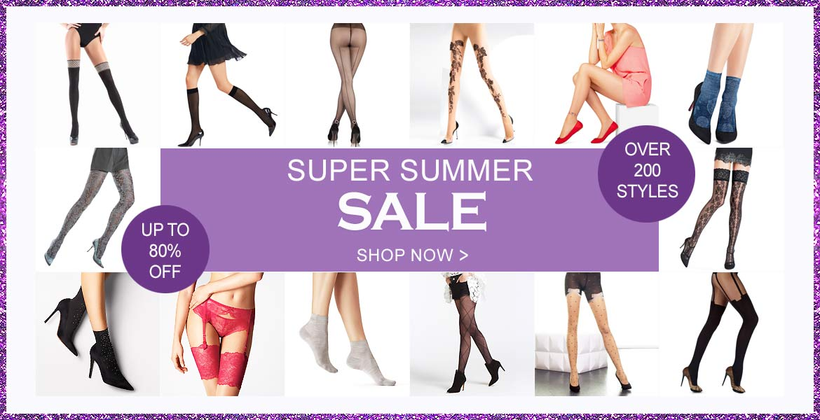 UK Tights: Summer Sale up to 80% off tights, leggins, stockings, hold ups