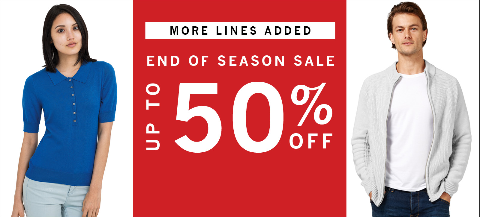 Woolovers: sale up to 50%