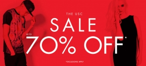 USC: sale up to 70% off