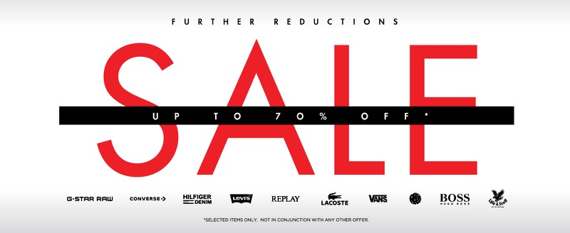 USC: Sale up to 70% off mens branded clothing and womens fashion