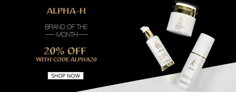 Under Armour: 20% off Alpha H cosmetics