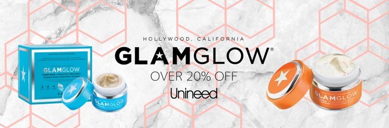 Unineed: over 20% off Glam Glow cosmetics