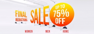 Urban Outfitters: sale up to 75% off